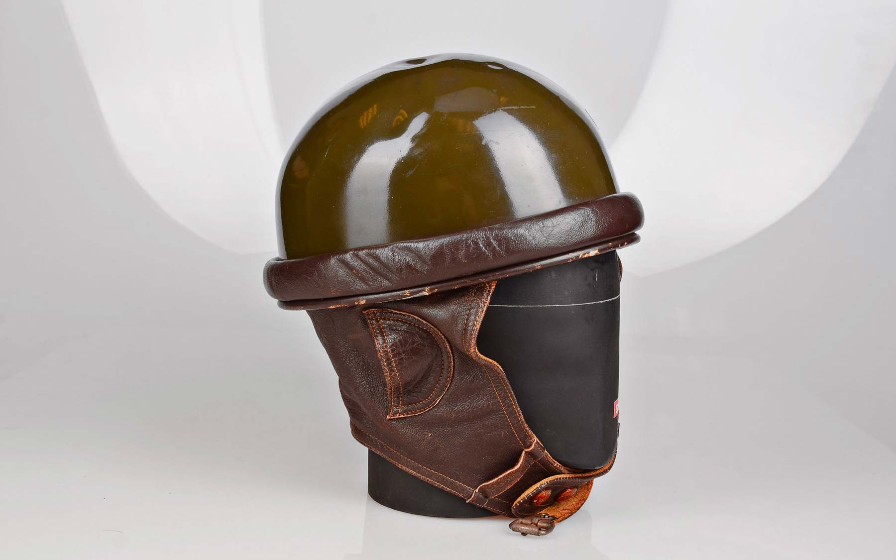 First thermoplastic helmets