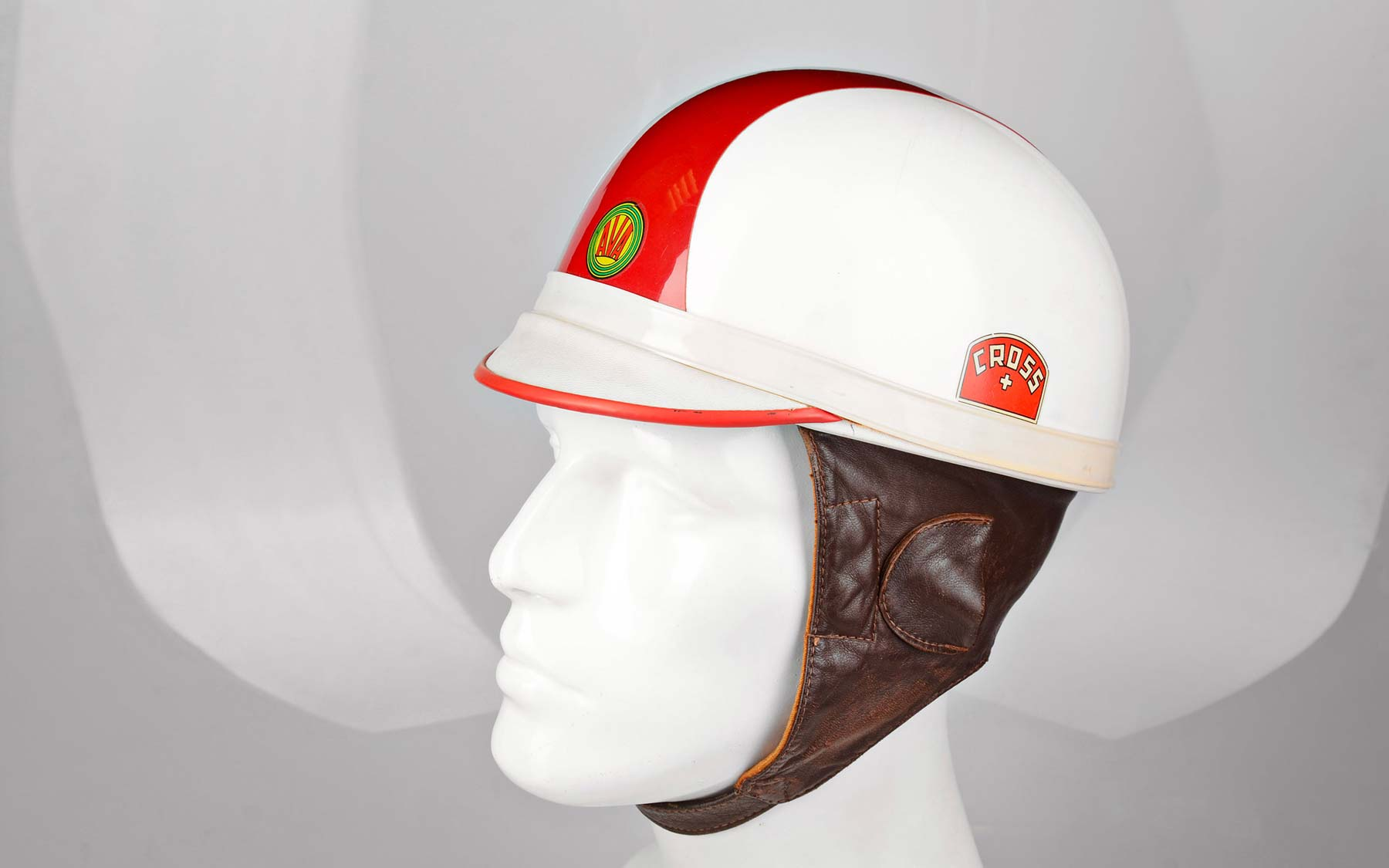 First thermoplastic helmets.