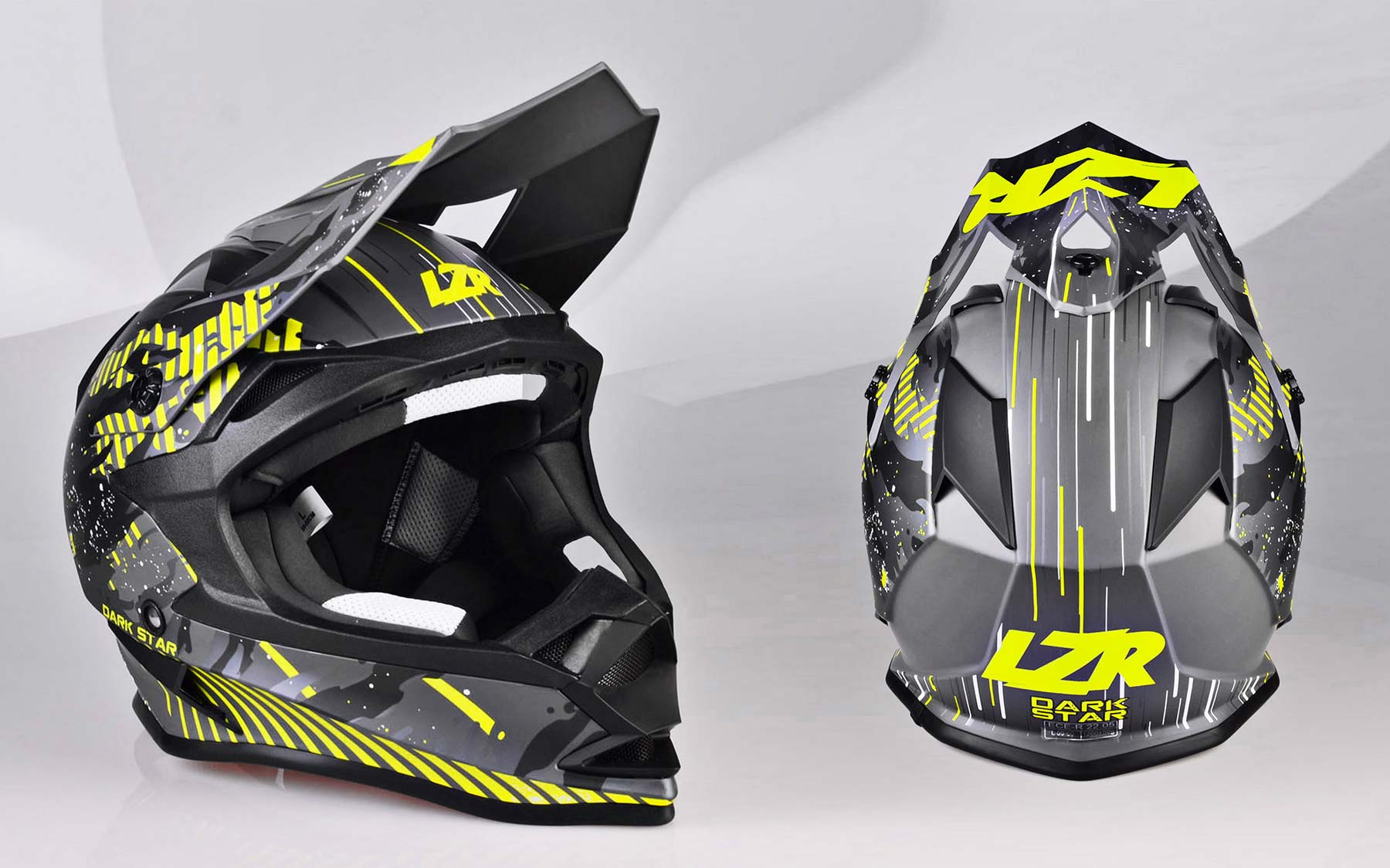 Launching of the entry-level range LZR, with touring, off-road, urban-style and adventure helmets.